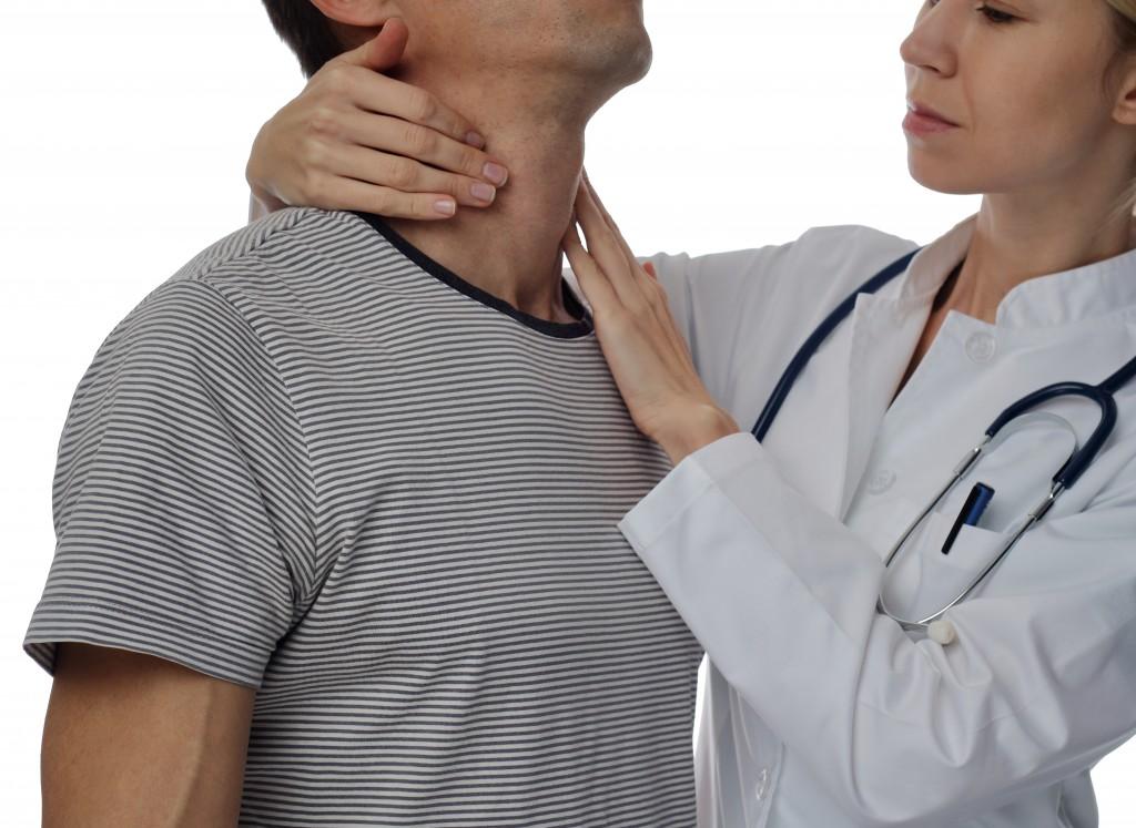 having a checkup