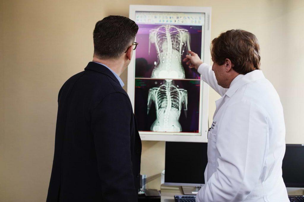 back x-ray